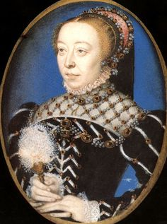 1530-35 Catherine de' Medici (1519-89), Queen of France (1547-59) attributed to Francois Clouet It's About Time: Portraits of women attributed to French artist François Clouet 1510-1572