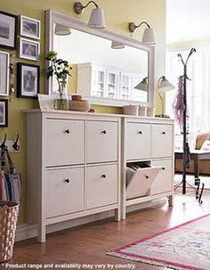 Hemnes Shoe cabinet from Ikea