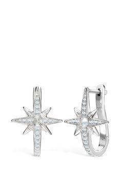 White Gold Venyx Star Earring by Venyx for Preorder on Moda Operandi
