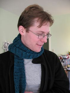 Free beginners pattern  Ravelry: Michael's Scarf pattern by Chase Clark
