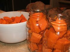 Canning Granny: Canning Sweet Potatoes
