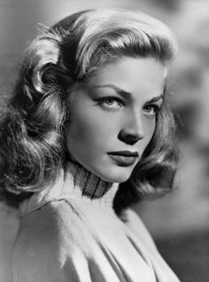 We lost a great actress today, Lauren Bacall.  MayYou R.I.P. September 16, 1924 - August 12, 2014.