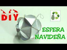 DIY ESFERA NAVIDAD (RECICLAJE DE TETRA BRIK)