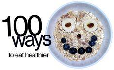 eat healthier!!