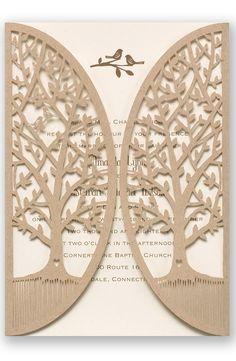 Love is Tweet Wedding Invitation by David's Bridal