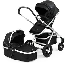 Genius! A stroller that grows with baby from birth to their strolling days are over. Meet the Nuna IVVI Stroller!