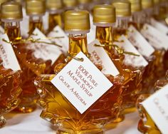 Maple syrup favours