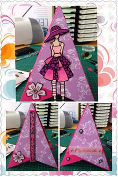 Female cards , paper craft , peel off stickers , elizabeth craft , glitter