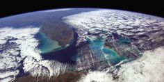 Chris Hadfield imaged the 1,000-mile-view from Havana to Washington D.C. during his five-month-stint aboard the International Space Station. Credit: Chris Hadfield / NASA