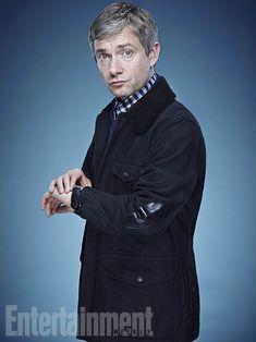 'Sherlock' Stars: 8 New Portraits   Benedict Cumberbatch and Martin Freeman through Entertainment Weekly's photo shoot lens.