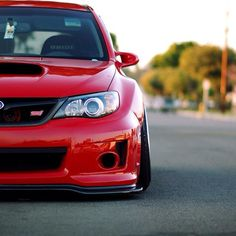 """Subaru wrx sti! The British Top Gear guys say this car should be called the Subaru """"You. Outside. Now."""" ! :)"""