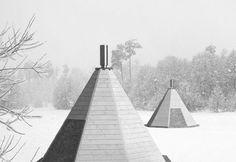 """NordHut Village"", 3D render - Social design project (course of Sociology of Consumption, 2012)"