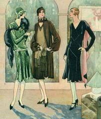 1920s Clothes Three Women
