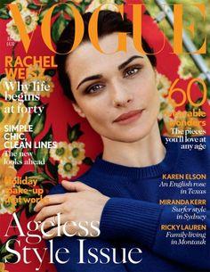 Rachel Weisz for Vogue UK July 2012