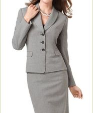 womens cashmere suit- nice to wear for teacher interviews