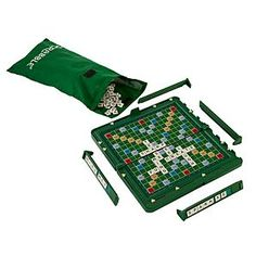 Travel games are great for quiet evenings or long journeys - and a magnetic board means you can fold up your game mid-way to resume later