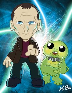 9th Doctor Who Chris Eccleston by *kevinbolk