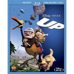 For Zac: Up blu-ray or DVD