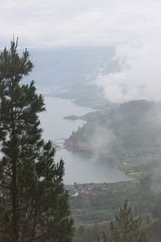 Sipiso Piso Waterfall area with view to Lake Toba, Sumatra, Indonesia -- BEEN THERE