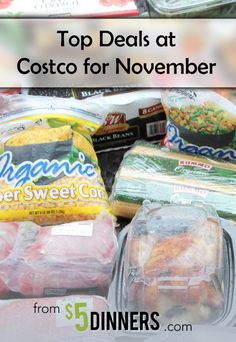 Costco Top Deals for November including Naked Juice, Starbucks, Cascade, Duracell and more | 5DollarDinners.com