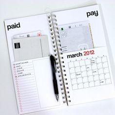 bill organization, money organization, make money ideas, bill calendar, bill organizing ideas, organization bills, budget organizer notebook, make money online, organize bills