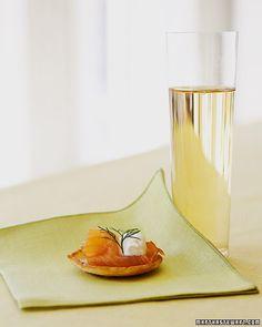 Blinis with Smoked Salmon - Martha Stewart Recipes