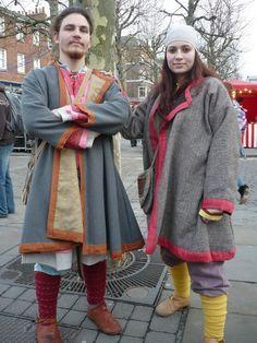 Birka based viking kaftans by ~Symbelmune