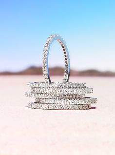 Love stack able rings :)