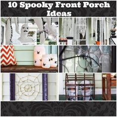 Ten Spooky Front Porch Ideas for Halloween