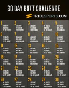 30 Day Butt Challenge #GirlScene