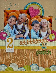 cute 2 pic layout!