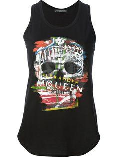 ALEXANDER MCQUEEN - skull print vest 6