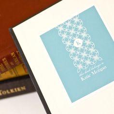 Personalized Bookplates, Custom Bookplate Sticker // MEREDITH. $9.00, via Etsy.