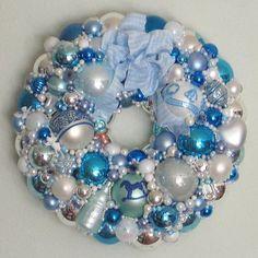 Baby Boy Wreaths