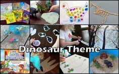 Dinosaurs - Preschool Theme lots of great ideas that could be adapted for therapy!