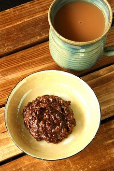 Nutella No Bake cookies: this is really good and easy to make