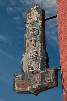 abandoned but beautifully weathered patina #rust