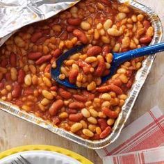 Quick Barbecued Beans Recipe - Holidays