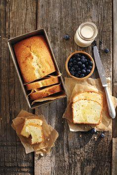 Lemon Meyer Tea Bread