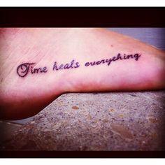 time heals all wounds tattoo ideas pinterest. Black Bedroom Furniture Sets. Home Design Ideas