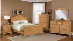 Wall color -pine bedroom sets