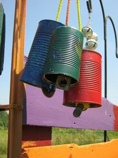 Great ideas for crafting with tin cans @Brandon Green Kid Crafts Earth-Friendly Creativity