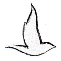 Sparrow tattoo.