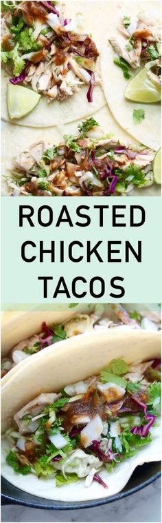 Roasted Chicken Taco