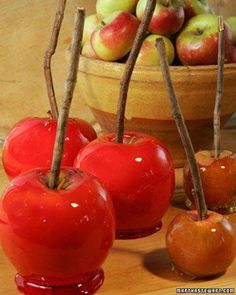 Candy Apples Recipe
