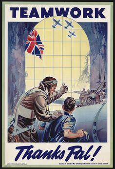 World War 2 Poster (Canadian) #propaganda #worldwar2