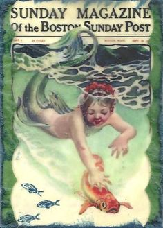 Baby Mermaid by sassyarts, via Flickr