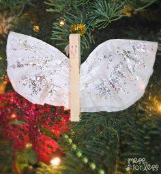 christma decor, christma idea, homemade christmas ornaments, angel ornaments, christma craft