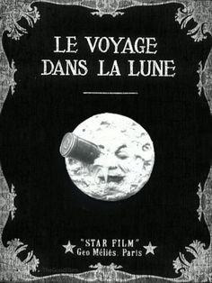 'Le Voyage Dans La Lune' (1902) - Click the image for animation!