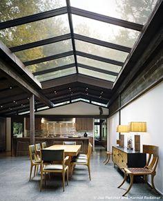 lights, interior design, marmol radzin, glass roof design, cleanses, architectur, interiors, dream hous, homes